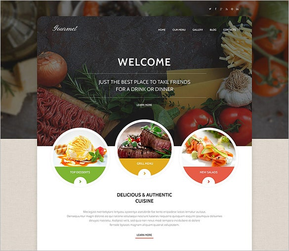 your cafe wordpress theme