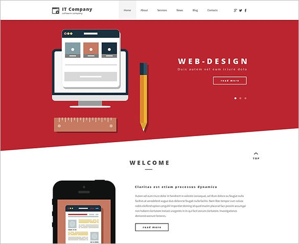 illustrative it wordpress theme