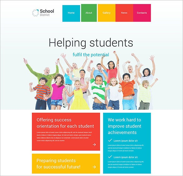 wordpress theme for education websites