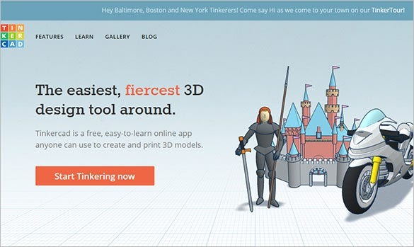 tinkercad free 3d modeling software