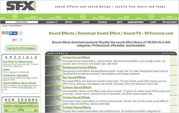 sfx free sound effects website for you