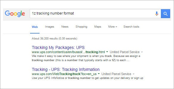 Package-Tracking