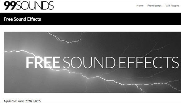 99Sounds-Free-Sound-Effects-Website-For-You