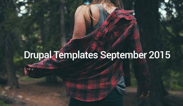Drupal-Templates-September-2015