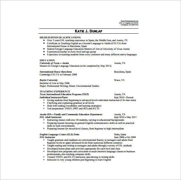 sample resume for tutoring position sample resume of avid tutor resume - Sample Resume Tutor Teacher