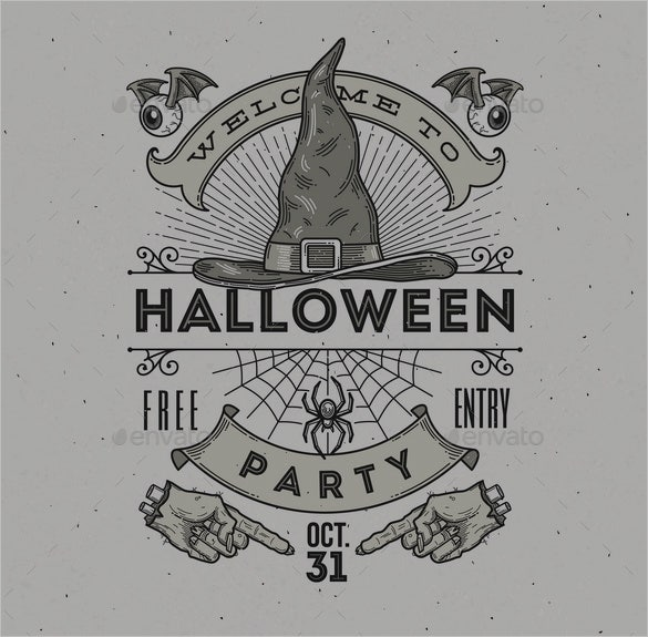 halloween party illustration art