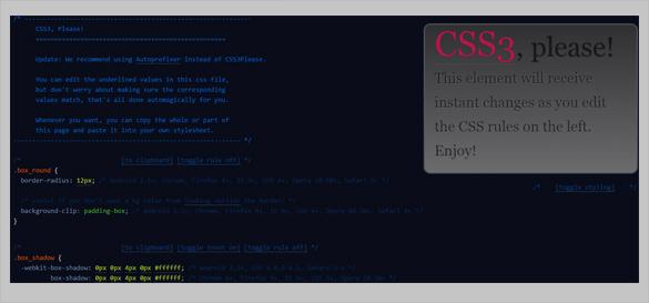 css3 code editor