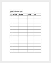 Production-Shot-List-Template