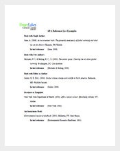 Sample-Apa-Reference-List-Template