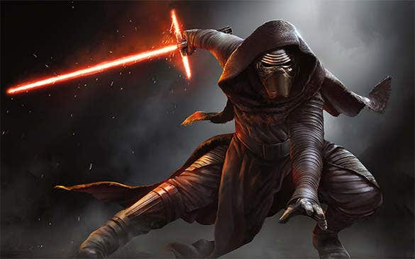 kylo ren cool black background1