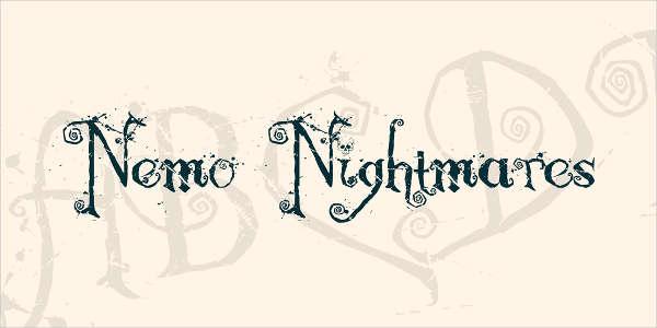 Gothic Horror Font
