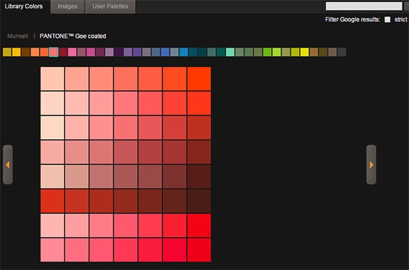 colormunki tool for color scheme palette