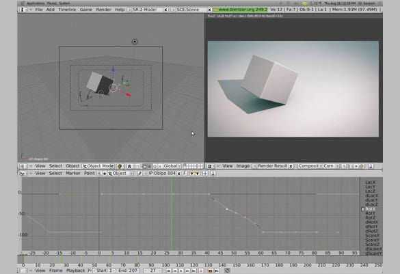 How-to-Roll-a-3D-Object-on-its-Edge-Tutorial