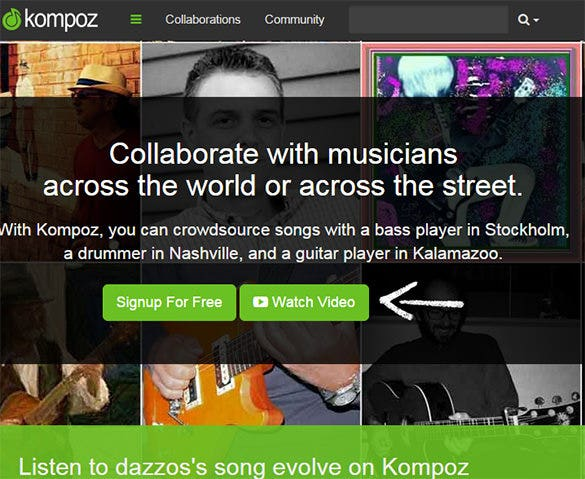 Kompoz-Website-For-Creative-Commons-Music