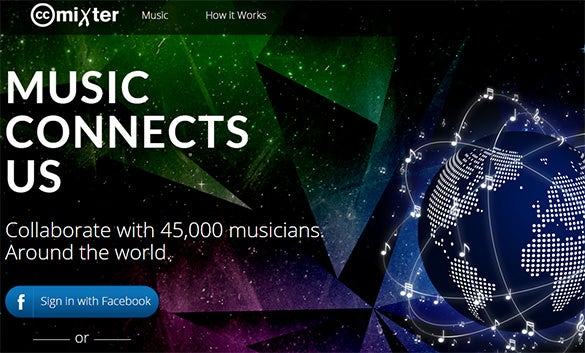 CCmixter-Website-For-Creative-Commons-Music