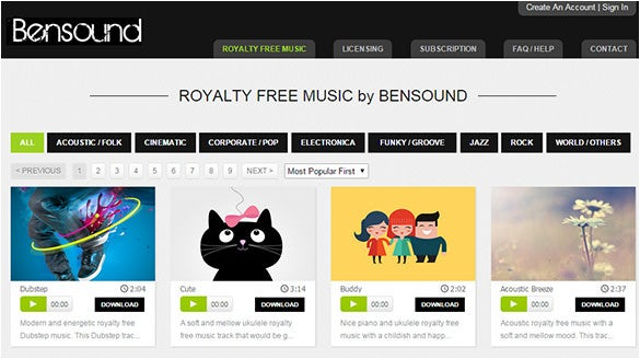 Bensound-Website-For-Creative-Commons-Music
