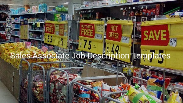 salesassociatejobdescriptiontemplate