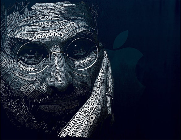 steven paul jobs typography design