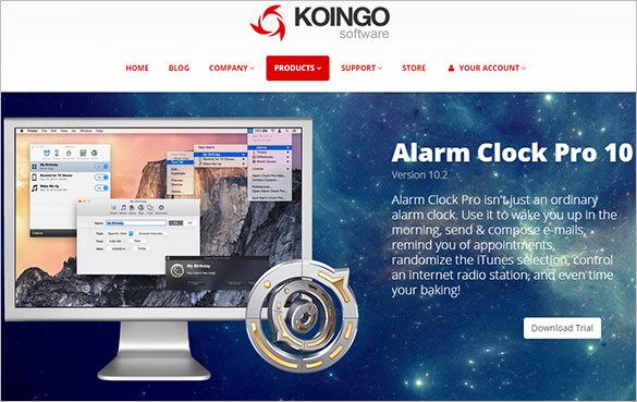 alarm clock pro app