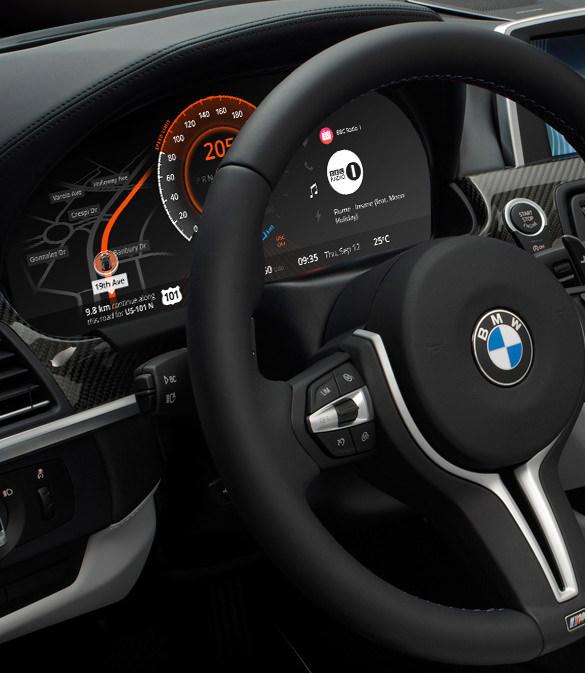 bmw car dashboard design download