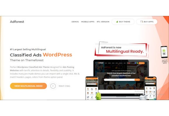 16+ Classified WordPress Themes & Templates | Free & Premium Templates