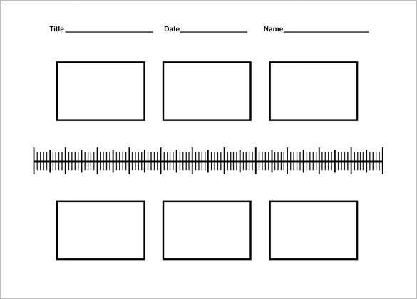 blank history timeline templates for kids