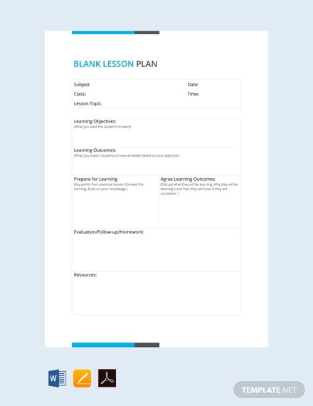 blank lesson plan template1