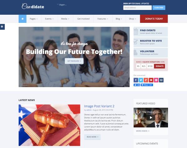 church nonprofit drupal theme