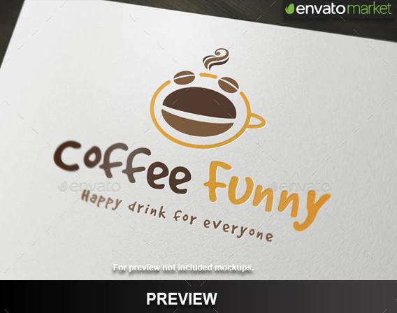 coffee funny logo