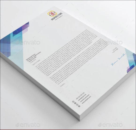 corporate letterhead designs