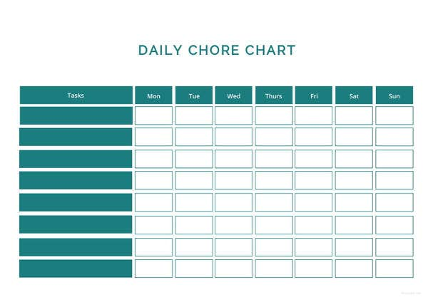 chart template 61 free printable word excel pdf ppt google