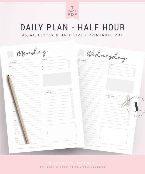 daily-hourly-planner-template
