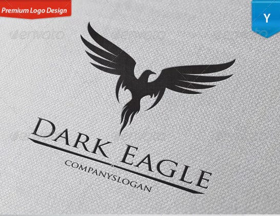 dark eagle logo