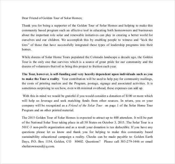 dear friend letter download