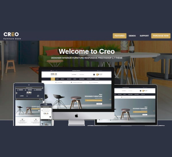designer interior furniture responsive prestashop
