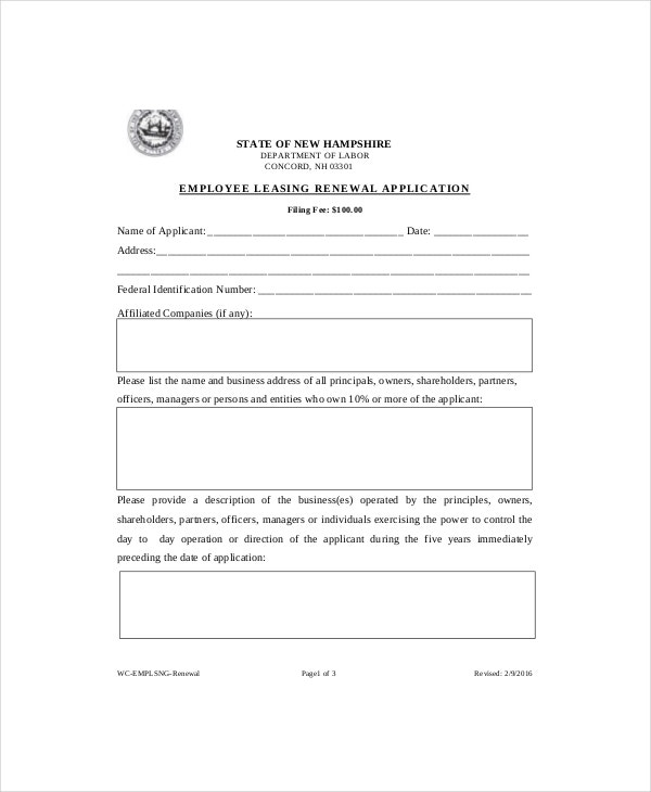 rental agreement renewal format