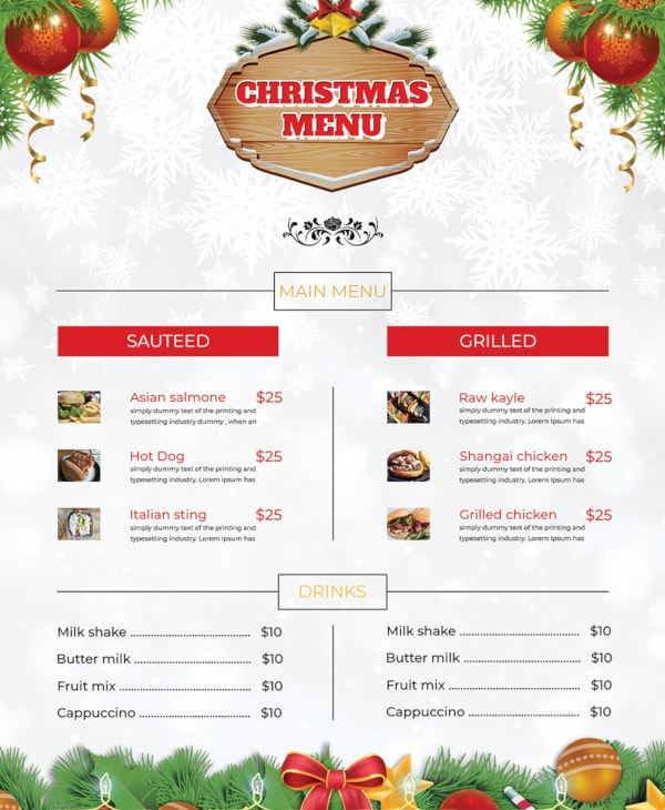 free-christmas-brochure-menu-card-template