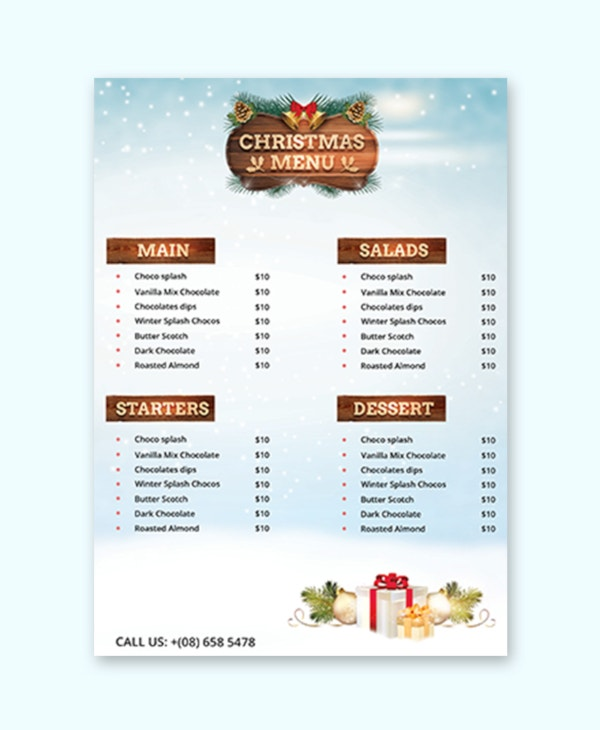 free-christmas-party-menu-card-template