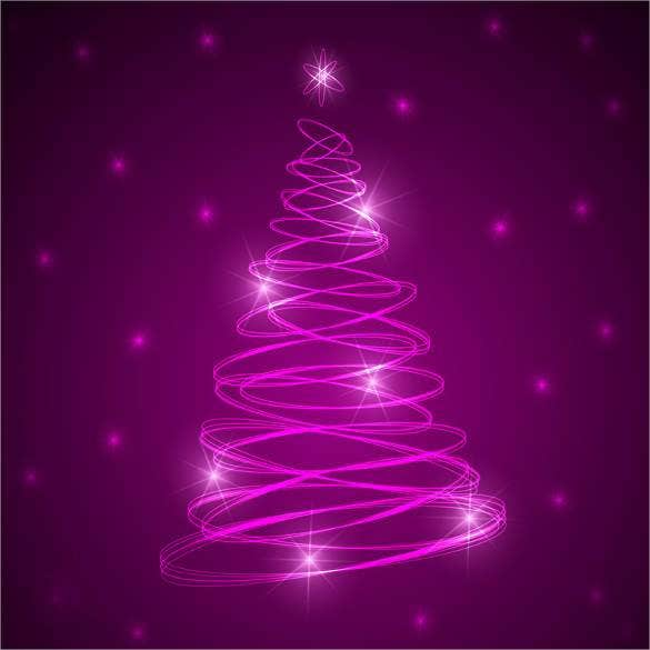 free christmas tree background