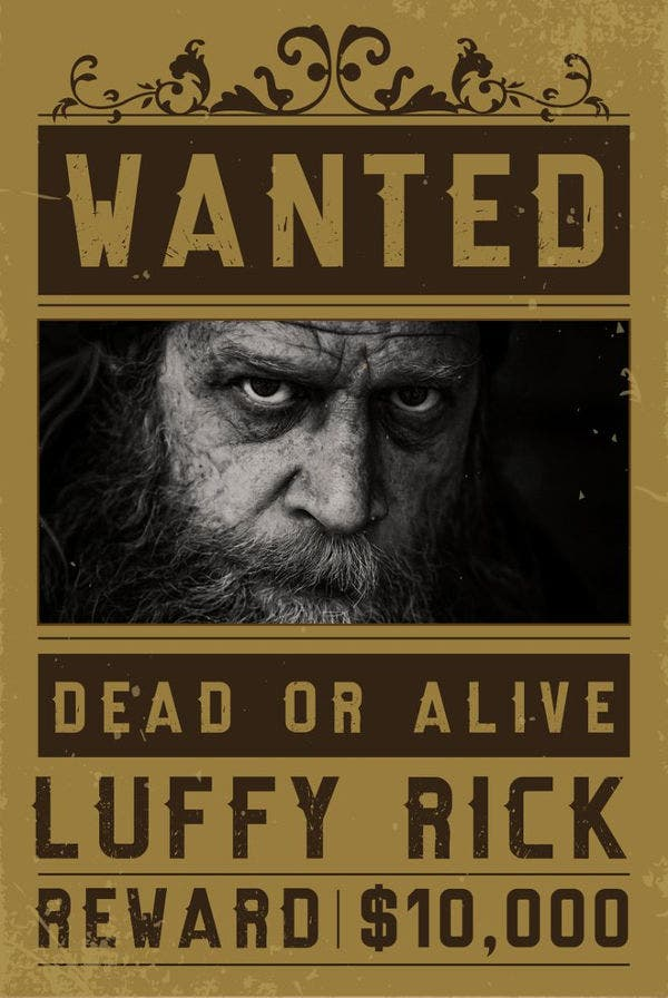 10 one piece wanted posters free printable word pdf for Free wanted poster template