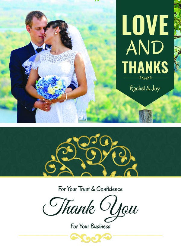 30+ Personalized Thank You Cards - Free Printable PSD, EPS ...