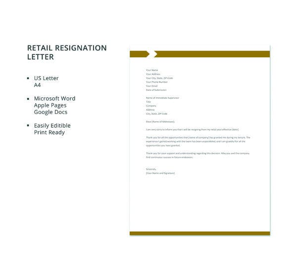 free-retail-resignation-letter-template