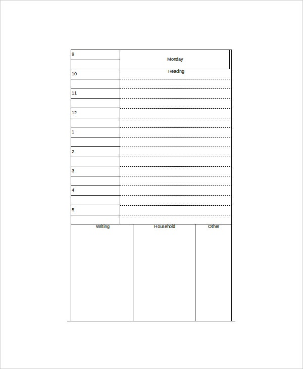 grand student daily planner template2