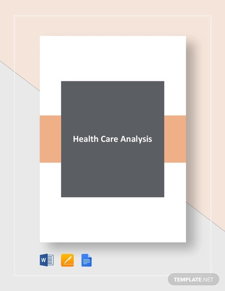 healthcare gap analysis template