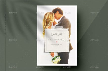 kissing couple theme wedding invitation template
