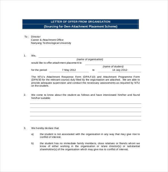 letter-of-offer-form-organisation