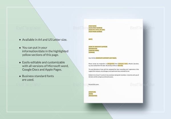 letter-of-resignation-template