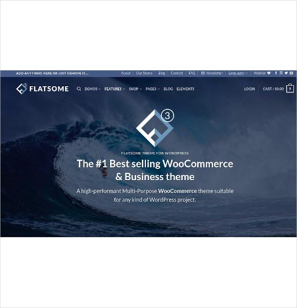 multi purpose responsive woocommerce theme