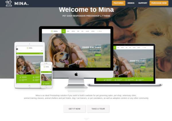 pet shop responsive prestashop 1