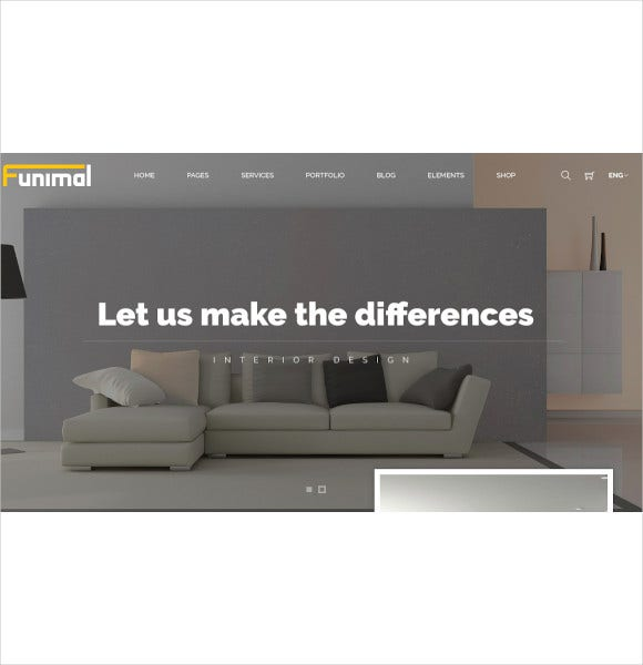 premium furniture interior joomla template